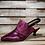 Thumbnail: #606 MJUS Women's Fuschia Matellic Kitten-Heel Sandal
