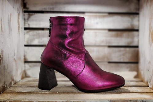 #618 MJUS Women's Fuschia Anckle Boot