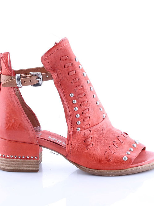 Cavallo Bootie Sandal w/ Weaving and Studded Details