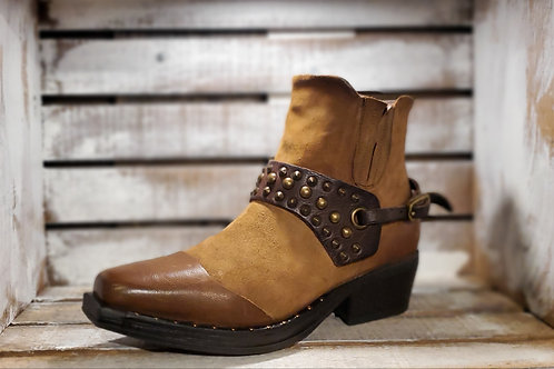 #481 AS98 Women's Cowboy-Style Ankle Boot