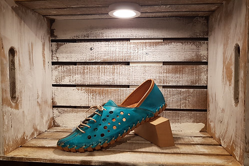 Turquoise#662 Black#664 Pumpkin#665 Natural#663 Perforated Flat w/Elastic Laces