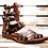 Thumbnail: 4 Buckle Gladiator -#215