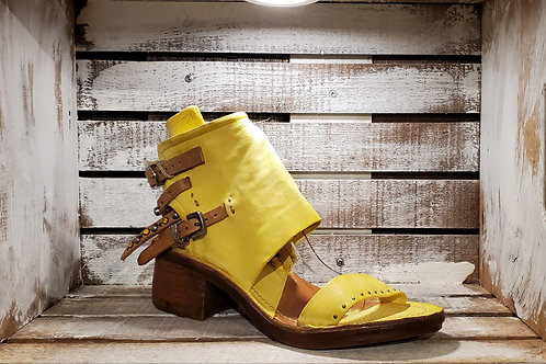 #558 AS98 Women's Yellow Studded Sandal