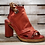 Thumbnail: #554 Women's AS 98 Red Block Heel Sandal