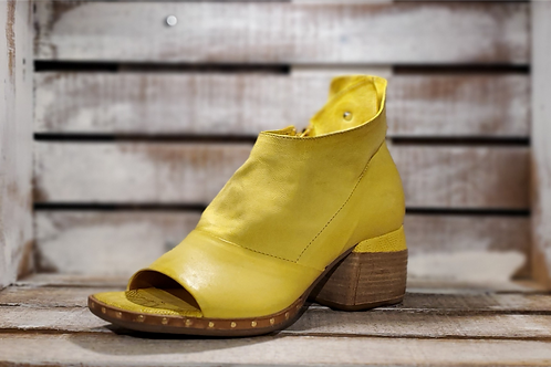 #613 AS98 Women's Yellow Block Heel