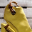 Thumbnail: #611 Women's AS98 Yellow Block Heel Sandal