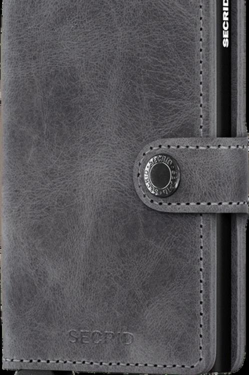 SECRID Miniwallet Vintage Grey