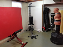 Secondary training area
