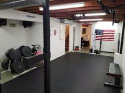 Main training area