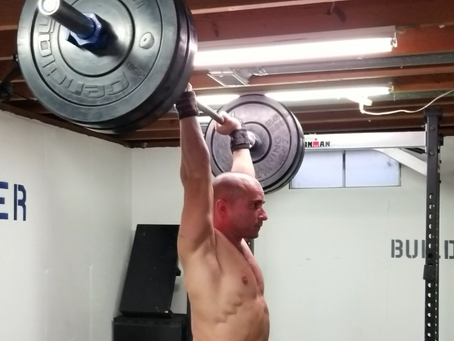 Why the overhead press is essential to upper-body strength