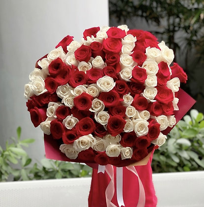 Ultimate Bouquet - 100 Roses