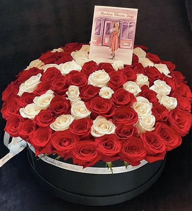 Roses XL Box - 100 Roses