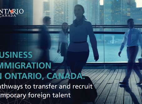 Business Immigration in Ontario, Canada