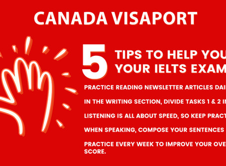 FIVE TIPS TO HELP YOU PASS YOUR IELTS EXAM