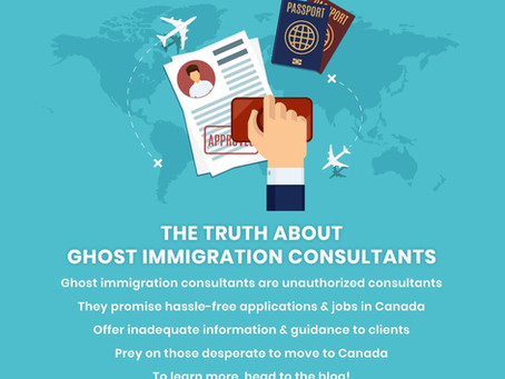 THE TRUTH ABOUT GHOST IMMIGRATION CONSULTANTS