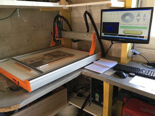 prototype du plancher coulissant