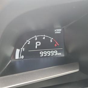 節目の10万km到達です (*^^)v