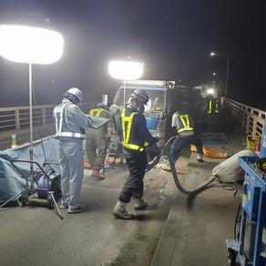 今回で橋梁補修工事も26橋目です。