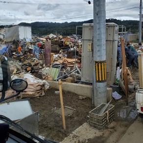台風19号の爪痕、、、