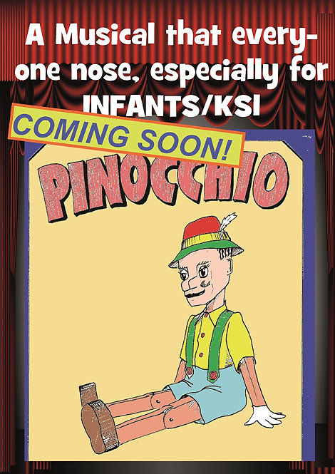 Pinocchio - 2-CD Set + FREE LICENCE
