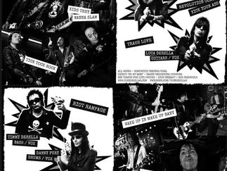 The DeRellas 2015 tour dates