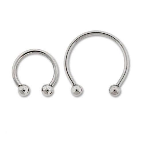 Circular Barbells Titanium