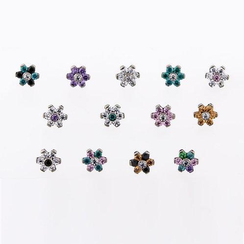 Flower Threadless Top