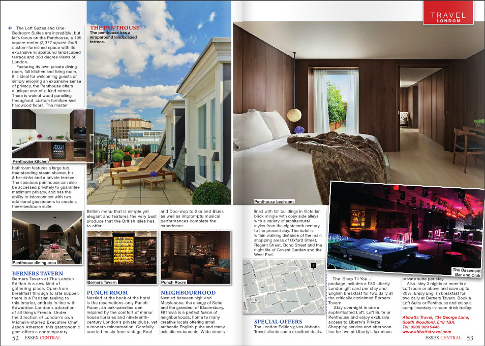 Essex Central magazine - The London Edition - pg 52