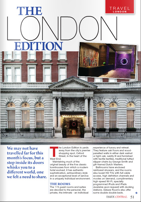 Essex Central magazine - The London Edition - pg 51