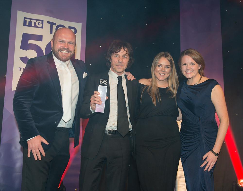 Abbotts Travel win Top London Agency award
