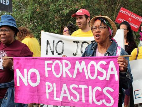175 Organizations Call on Banks Not to Finance Formosa Plastics' Louisiana Plant