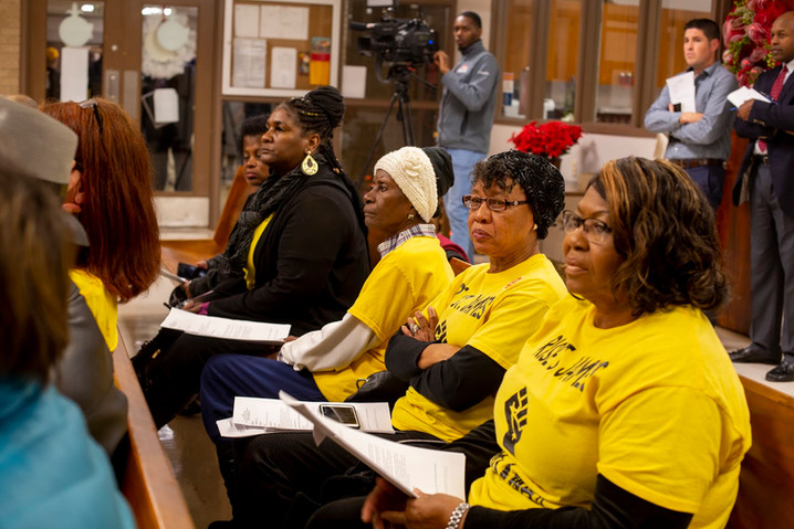 RISE members at council meeting December 2020