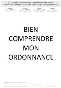 COMPRENDRE MON ORDONNANCE : ELUDRIL Gé et Pro (bain de bouche)