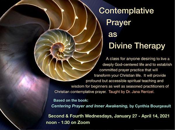 Contemplative Prayer as Divine Therapy.j