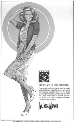 Illustration for Neiman Marcus
