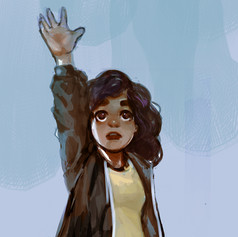 Book character art