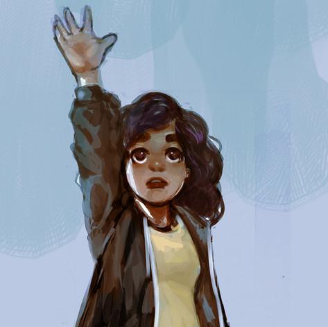 Book character art