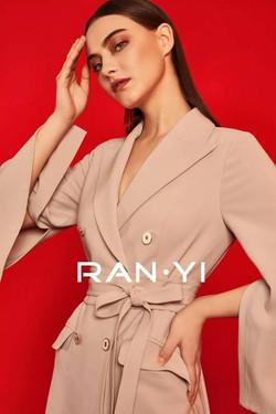 Sofia Maraeva for Ran Yi SS 2019 Campaign China 1