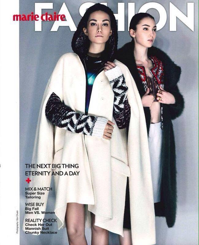 cover for Marie Claire fashion Hong kong