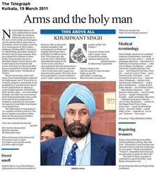 The Telegraph, kolkata, 031911.jpg