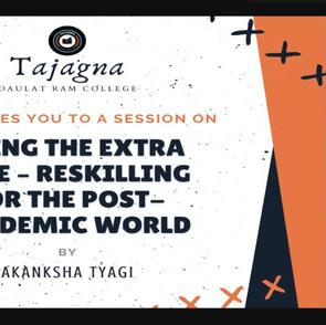 Akanksha Tyagi on Going the Extra Mile   Tajagna DRC