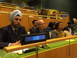 At the United Nations, 2018