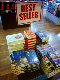 Best Seller in Bookstores
