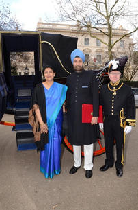 Day of presentation of credentials to Her Majesty Queen Elizabeth II, March 2016