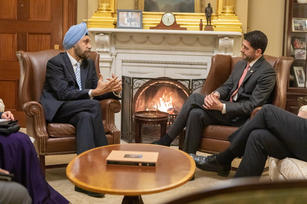 With Paul Ryan, Speaker of US Congress