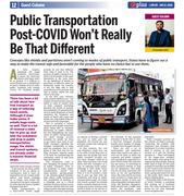 Prassenjit - Public Transportation Will