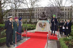Martyrs Day, Tavistock Square, London 2016