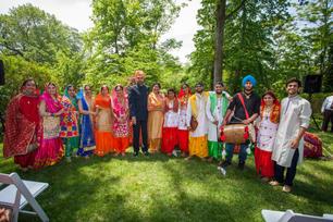 Celebrating Baisakhi at Embassy residence, Washington DC, 2018