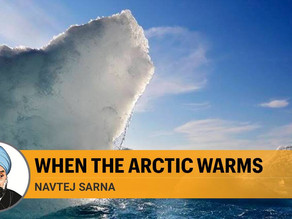 When the Arctic warms, it will affect sea levels and precipitation patterns globally