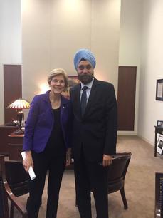 With Sen. Elisabeth Warren